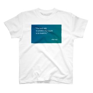 未来を予測する最善の方法は、それを発明することだ T-shirts