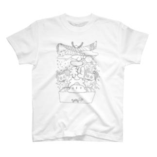黒のご利益 T-shirts