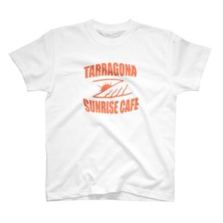 TARRAGONA SUNRISE CAFE T-shirts
