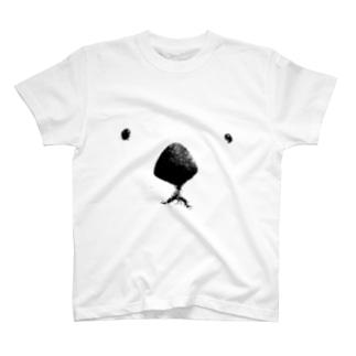 ビスケットのとてもでかいおかおT T-shirts