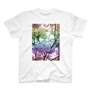 レオナのColorful Photo(SAKURA) T-shirts