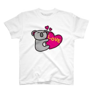 LOVE-koaland-コアランド- T-shirts
