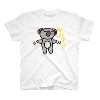 WHY-koaland-コアランド- T-shirts