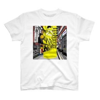 路地裏とSF T-Shirt