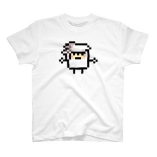 PixelArt スシスッキー イカゲソ Tシャツ