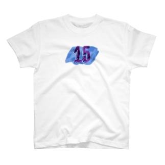 ナンバー15 T-shirts