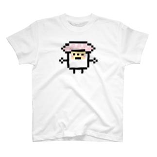 PixelArt スシスッキー ビントロ T-shirts
