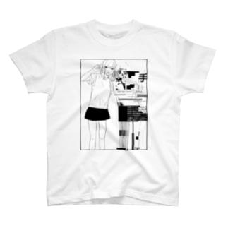 写真写りの悪い友達 T-shirts