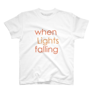 when Lights falling T-shirts