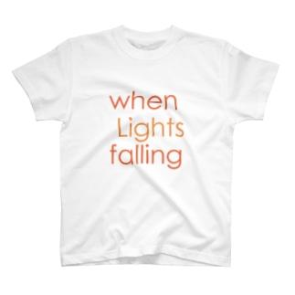 when Lights falling T-shirts