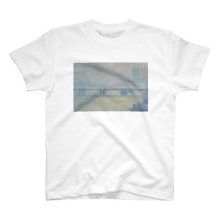 クロード・モネ「チャリング・クロス橋」 T-shirts