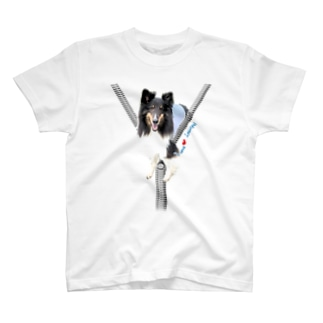 ジップデザインラスティ君 T-shirts