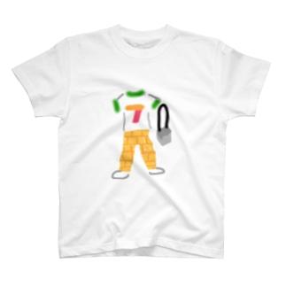 コンビニっぽいコーデ T-shirts