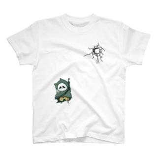 眼鏡を掛けた弱い子 T-shirts