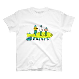 アザラシはこび T-shirts