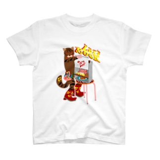 テレコ猫 01 T-shirts