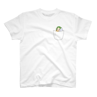 inポケット T-shirts