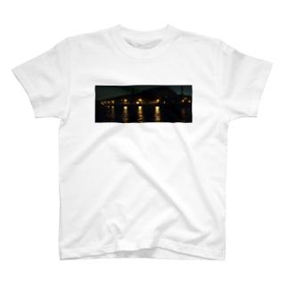 運河の夜 T-shirts