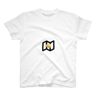 地図・チーズ T-shirts