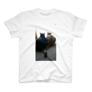 後ろ姿(ねこ) T-shirts