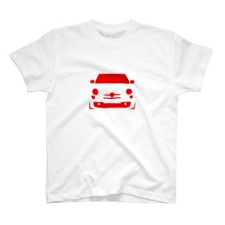 アバルト type.A T-shirts