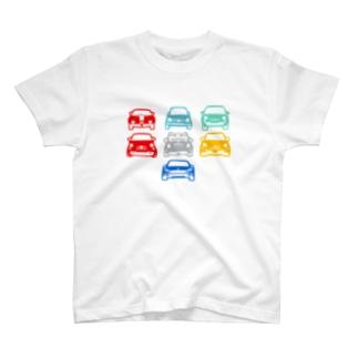 アバルトたち type.A T-shirts