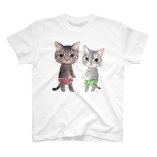 あずきちゃんよもぎちゃん飼い主さま専用 T-shirts