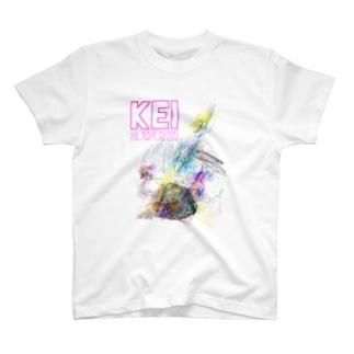 けいさん作品2017夏 T-shirts