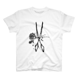 RosexScissors T-shirts