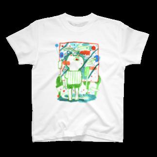 桜のねこ T-shirts