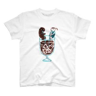 アイスコーヒー T-shirts