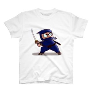 忍者 お庭番 T-shirts
