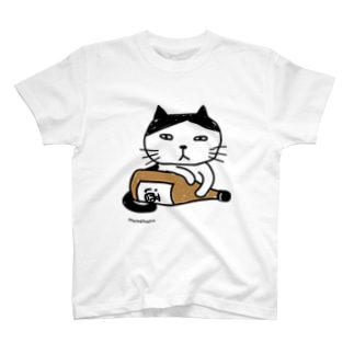 酒とにゃんこ T-shirts