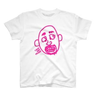 オジさんといっしょ -pink- T-shirts