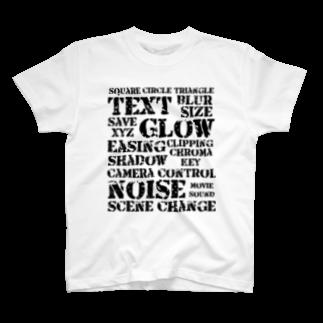 raimuの動画編集 T-shirts