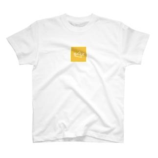 チーズ▷ステッカー T-shirts