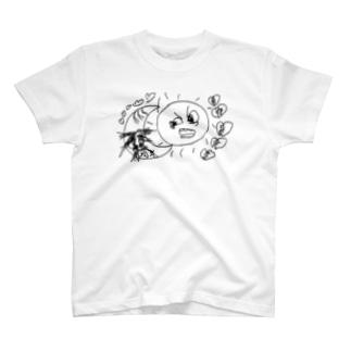 太陽とムムムムーン T-shirts