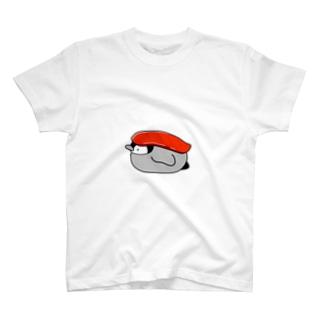お寿司なペンギン(まぐろ) Tシャツ