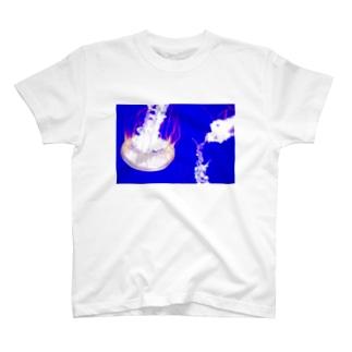 ブルー T-shirts