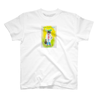 carbon Wool Shop Street T-Shirt