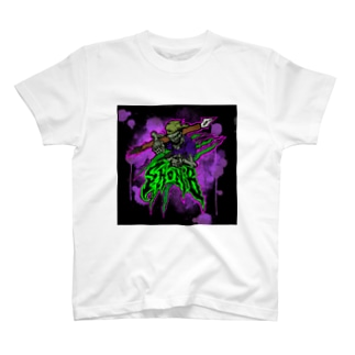 SARU_LOGODESのしょんびー T-Shirt
