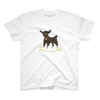 黒ヤギ T-shirts