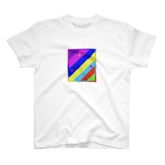 顔文字 カラフル T-Shirt