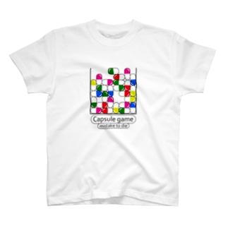 カプセルゲーム T-shirts