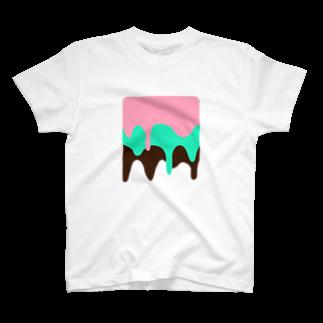 こだまのアイス T-shirts