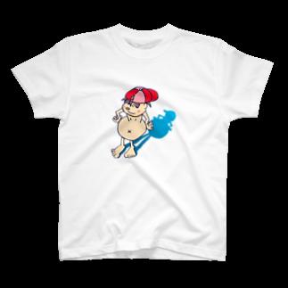 セビリヤの怒髪師の餓鬼っ子鉄ちゃん T-shirts