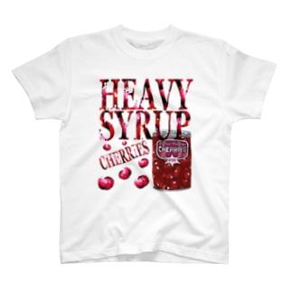 ヘビーシロップチェリー T-shirts