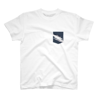プリントポケット−1 T-shirts