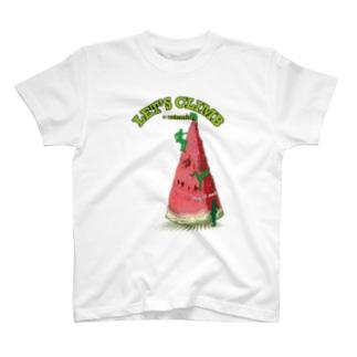 Climbing watermelon T-shirts