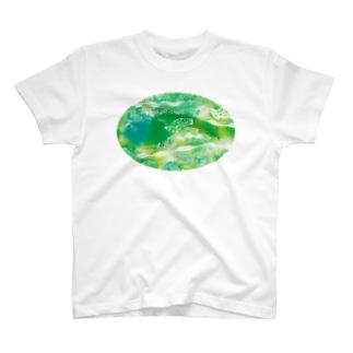 STUDIO*KUBORIのガーデン T-shirts